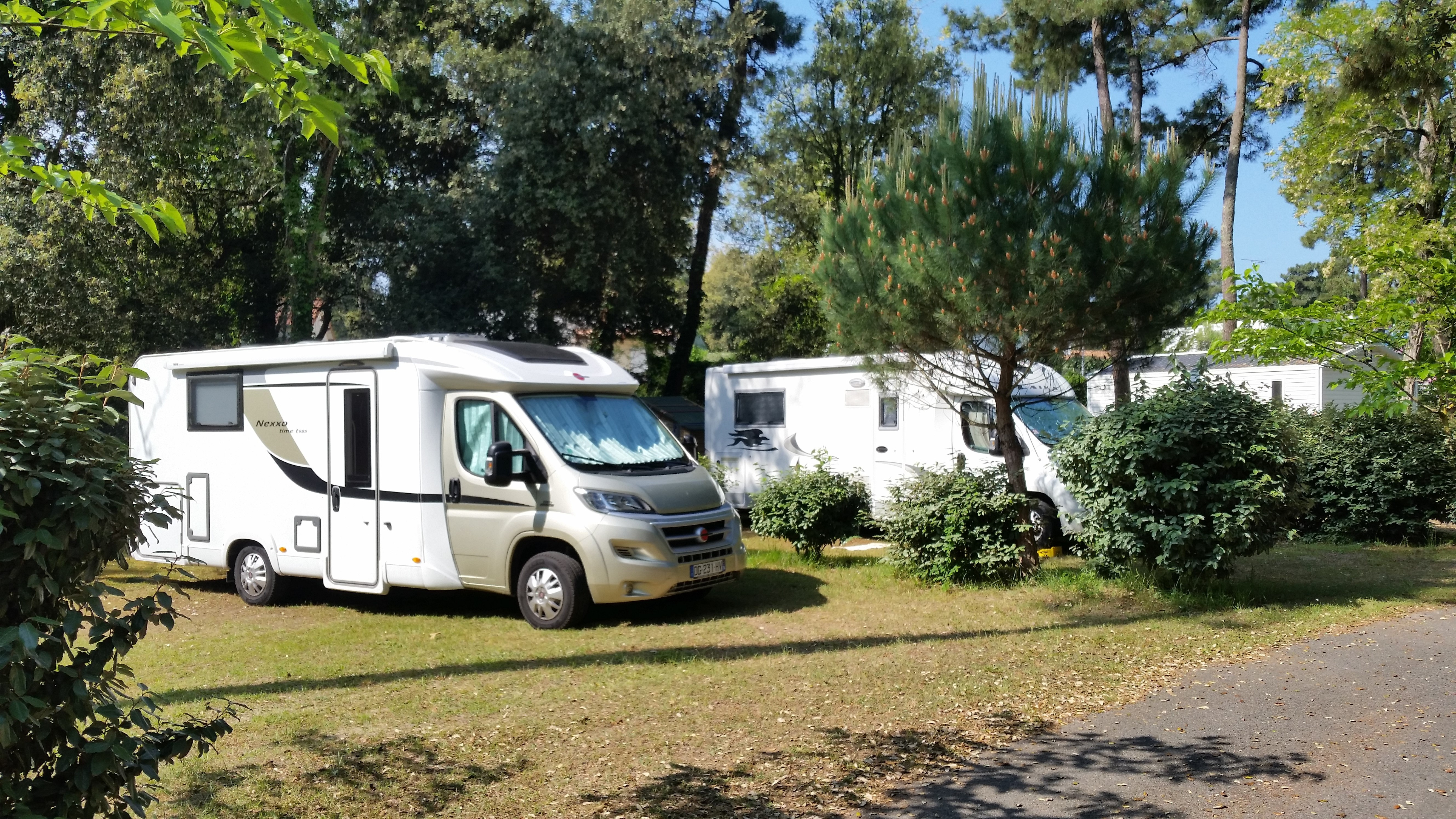 emplacements camping car camping*** beausoleil la palmyre proche royan charente maritime